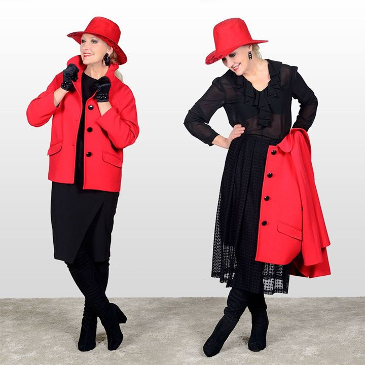"""Rosso - """"LOOK CONSIGLIO N. 391"""""""